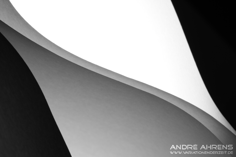 Papierkante diagonal